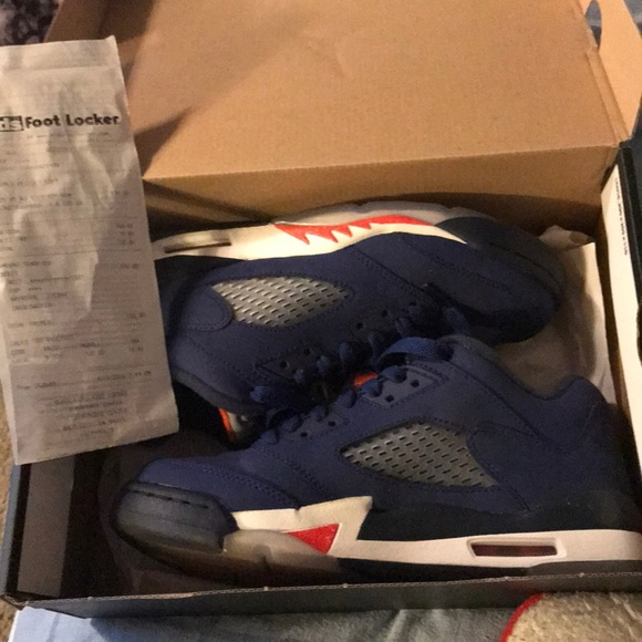 df42d17f7fd Jordan Shoes | Air 5 Retro Low Gs Knicks | Poshmark